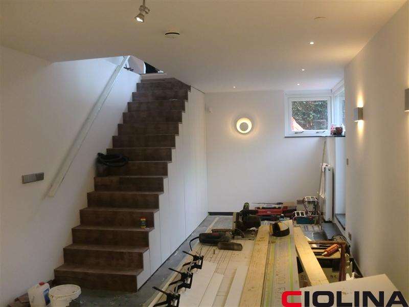 Villa kelder aanbouw ciolina bv