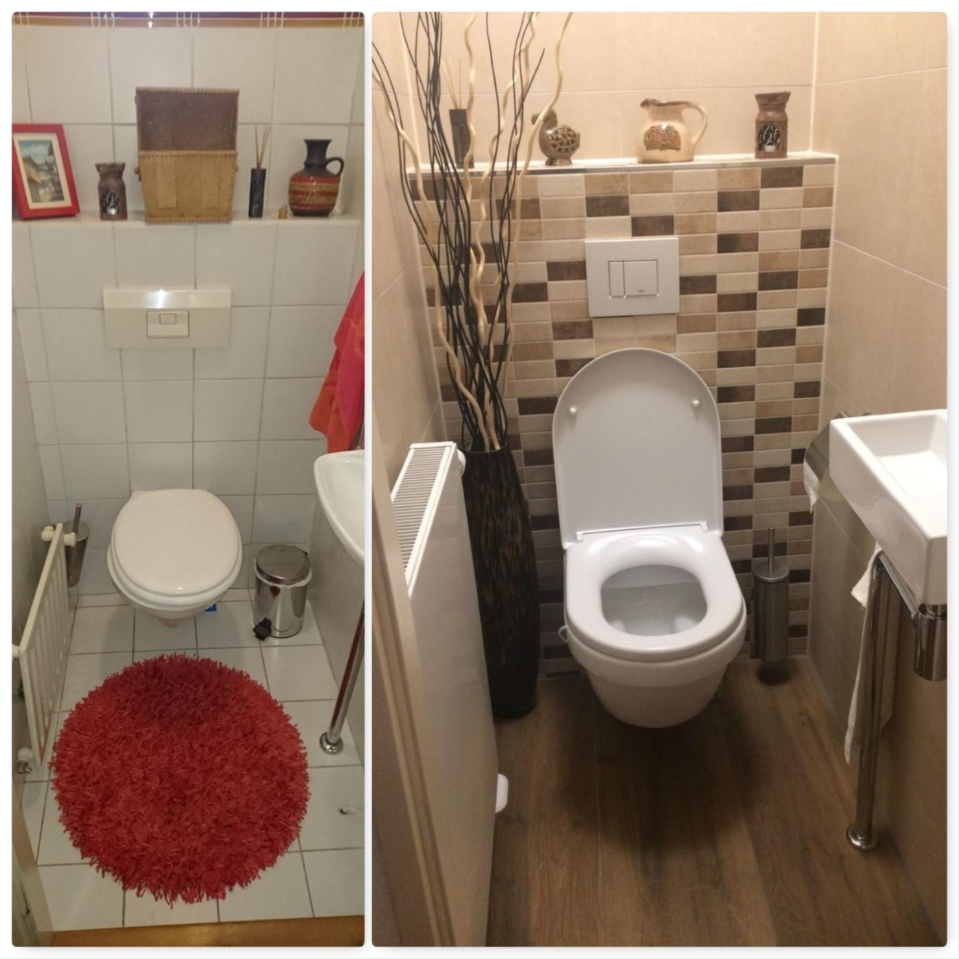 Super Ciolina, toilet, renovatie, verbouw, sanitair, samenwerken, tegelwerk AV-85